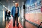 Godinot Latvijas vieglatlētu sasniegumus un vēloties pasažieriem atgādināt par veselīga dzīvesveida nozīmi ikviena cilvēka dzīvē, lidostā