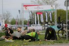 Olainē jau trešo gadu pēc kārtas norisinājās Olaines rogainings, kas pulcēja vairāk kā 600 dalībniekus – gan vietējos orientēšanās un velo aktīvistus, 7