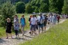 Ar krāšņu svētku atklāšanas programmu Alūksnes  pusē atklātas Veclaicenes aizsargājamo ainavu apvidū izveidotās Dabas mājas un pašapkalpošanās tūrisma 16