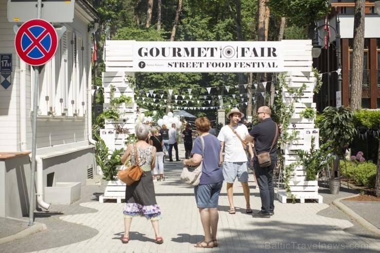 Jūrmalas Street-Food festivāls Gourmet Fair norisināsies 15.06.2019 no plkst. 12:00 līdz 18:00 ar plašu aktivitāšu programmu