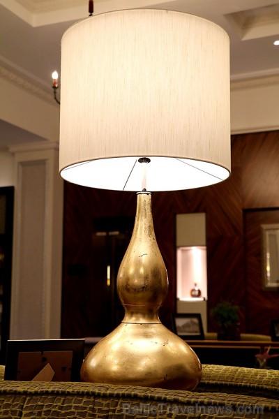 Viesnīcas «Grand Hotel Kempinski Riga» 1.stāva interjeru var baudīt bez maksas