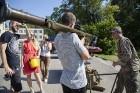 Ar krāšņiem koncertiem, tirdziņiem, pasākumiem un aktivitātēm Lielvārdē svin novada svētkus 64