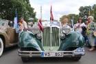 Par godu Baltijas ceļa 30. gadadienai Rīgā piestāj vēsturiski spēkrati 3