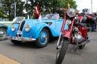 Par godu Baltijas ceļa 30. gadadienai Rīgā piestāj vēsturiski spēkrati 5