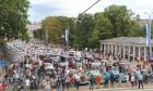 Par godu Baltijas ceļa 30. gadadienai Rīgā piestāj vēsturiski spēkrati 36