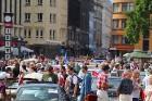Par godu Baltijas ceļa 30. gadadienai Rīgā piestāj vēsturiski spēkrati 37