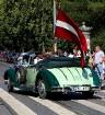 Par godu Baltijas ceļa 30. gadadienai Rīgā piestāj vēsturiski spēkrati 63