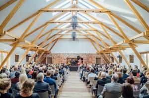 Rūmenes muižā, atzīmējot atjaunošanas 10 gadu jubileju, atklāj jaunu kultūras un svinību telpu KŪTS 20
