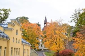 Ceļotājus Valmierā sagaida krāšņs rudens, kas ik dienu arvien vairāk rotā pilsētu 1