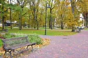 Ceļotājus Valmierā sagaida krāšņs rudens, kas ik dienu arvien vairāk rotā pilsētu 2