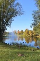 Ceļotājus Valmierā sagaida krāšņs rudens, kas ik dienu arvien vairāk rotā pilsētu 4