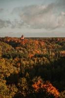 Sigulda var dižoties daudzveidīgām rudens ainavām pilsētā un tās apkārtnē 11