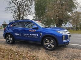 400 kilometru garajā testa maršrutā pa Zemgali tika izbrauktas gludas šosejas, rakstaini asfalta ielāpi un strauji līkumi 5