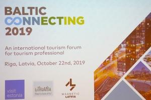 «Radisson Blu Latvija Conference & Spa Hotel» notiek no 21.10 līdz 24.10.2019 tūrisma profesionāļu pasākums «Baltic Connecting 2019» 1