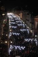 Viļņā iededz vienu no skaistākajām Ziemassvētku eglēm Eiropā 8