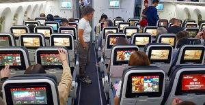Travelnews.lv lido biznesa klasē ar «Turkish Airlines» no Rīgas uz Denpasaru caur Stambulu. Foto: ar Samsung Galaxy Note8 21