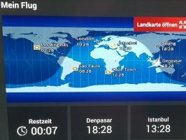 Travelnews.lv lido biznesa klasē ar «Turkish Airlines» no Rīgas uz Denpasaru caur Stambulu 48