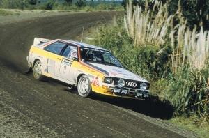Leģendārā Audi pilnpiedziņas sistēma quattro šogad svin 40 gadu kopš tās prezentācijas Audi quattro modelī 1980. gadā 6