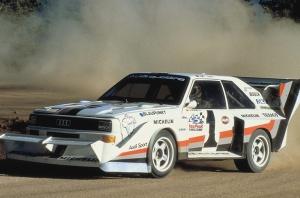 Leģendārā Audi pilnpiedziņas sistēma quattro šogad svin 40 gadu kopš tās prezentācijas Audi quattro modelī 1980. gadā 8