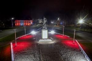 Rēzekne nosvinējusi Latvijas 102. dzimšanas dienu  Foto: Rēzeknes TIC 4